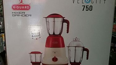 V-Guard Velocity 650W Mixer Grinder Price in India