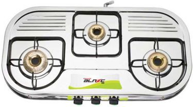 Butterfly Blaze 3 Burner Gas Cooktop Price in India