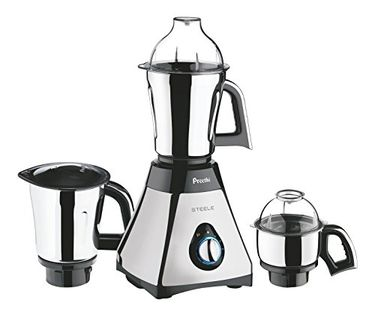 Preethi Steele MG-206 550W Mixer Grinder Price in India