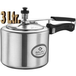 Bajaj Majesty Duo PCX43 3 L Pressure Cooker (Inner Lid) Price in India