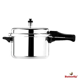 Butterfly Standard Plus Aluminium 7.5 L Pressure Cooker (Outer Lid) Price in India