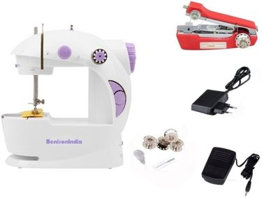 Benison India 4 In1 Mini Sewing Machine (With Stapler Machine) Price in India