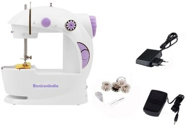 Benison India Portable 4 In 1 Mini Sewing Machine Price in India