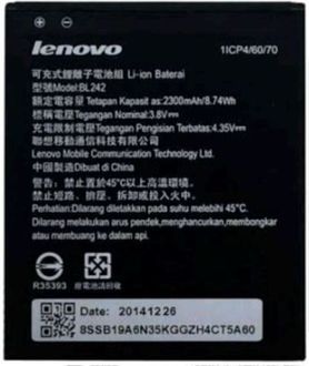 Lenovo BL242 2300mAh Battery (For A6000) Price in India
