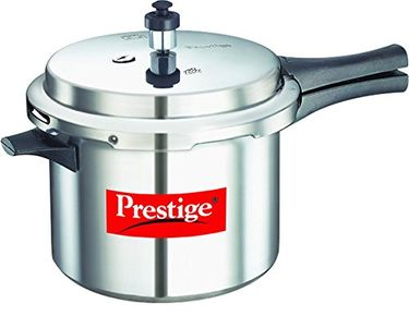 Prestige Popular Aluminium 5 L Pressure Cooker (Outer Lid) Price in India