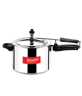 Butterfly Standard Plus 5 L Pressure Cooker (Inner Lid) Price in India