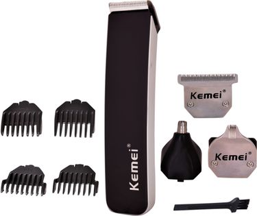 Kemei KM 3580 Trimmer With Grooming Kit Price in India