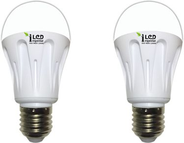 Imperial 10W E27 3573 LED Premium Bulb (Warm White, Pack of 2) Price in India