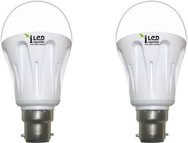 Imperial 10W B22 3575 LED Premium Bulb (Warm White, Pack of 2) Price in India