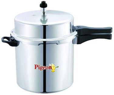 Pigeon Deluxe Aluminium 12 L Pressure Cooker (Outer Lid) Price in India