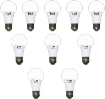 Imperial 7W-WW-E27-3647 LED Premium Bulb (Yellow, Pack of 10) Price in India