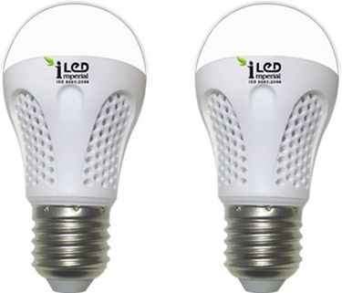 Imperial 4W-WW-E27-3525-2 Premium LED Bulb (Warm White, Pack Of 2) Price in India