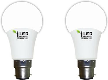 Imperial 7W-WW-BC22-3649-2 Premium LED Bulb (Warm White, Pack Of 2) Price in India
