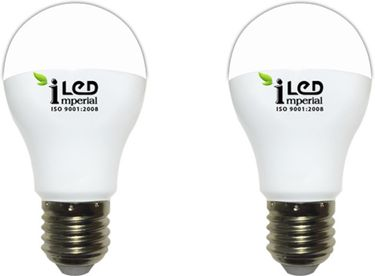 Imperial 7W-WW-E27-3615-2 Premium LED Bulb (Warm White, Pack Of 2) Price in India