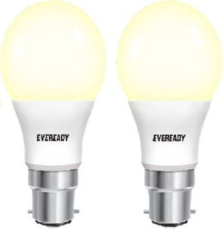 Eveready 5W B22D 450L LED Bulb (Warm White, Pack Of 2) Price in India