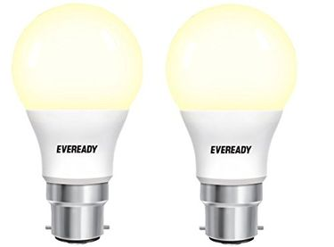 Eveready 9W B22 810L LED Bulb (Yellow, Pack Of 2) Price in India