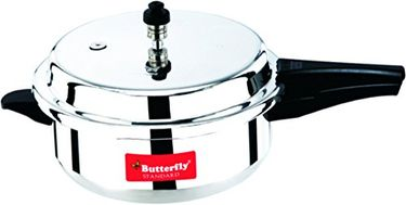 Butterfly C1861A00000 Aluminium 5.5 L Pressure Cooker (Outer Lid) Price in India