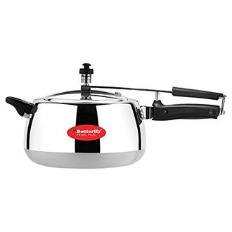 Butterfly C2051A00000 Pearl Plus 3 L Pressure Cooker (Inner Lid) Price in India