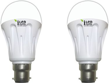Imperial 7W-WW-BC22-3563 Premium LED Bulb (Warm White, Pack Of 2) Price in India