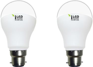 Imperial 6W-WW-BC22-3637 Premium LED Bulb (Warm White, Pack Of 2) Price in India