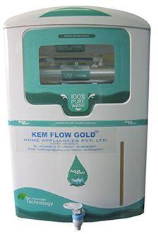Kem Flow Gold Aqua Novo 10 Litre RO UV Water Purifier Price in India