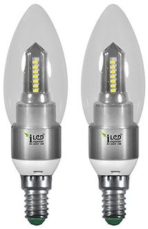 Imperial 3689 3W E14 LED Bulb (White, Pack Of 2) Price in India