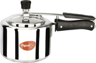 Pigeon 12091 Alluminum 3 L Pressure Cooker (Inner Lid) Price in India
