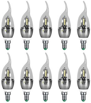 Imperial 3687 3W E14 LED Bulb (White, Pack Of 10) Price in India