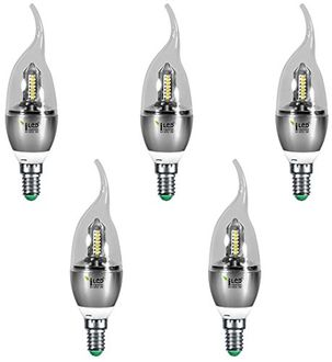Imperial 3687 3W E14 LED Bulb (White, Pack Of 5) Price in India