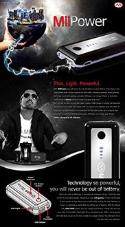 Rhythm by Mika MiiPower 5600mAh Power Bank Price in India