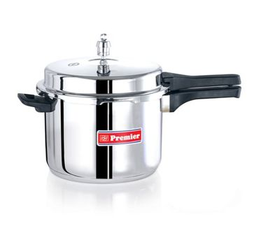 Premier Stainless Steel 5 L Pressure Cooker (Induction Bottom, Outer Lid) Price in India