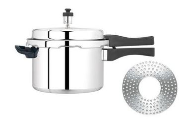 Premier Aluminium 5.5 L Pressure Cooker (Induction Bottom, Outer Lid) Price in India