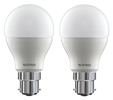 Wipro 18W B22 LED Bulb (White, Pack Of 2) Price in India