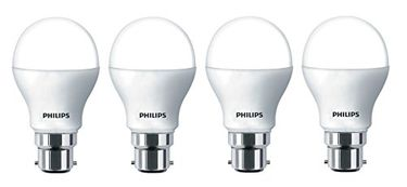 Philips Ace Saver 9W 806 L B22 LED Bulb (Crystal White, Pack of 4) Price in India