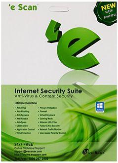 eScan Internet Security Suite 1 PC 1 Year Antivirus Price in India