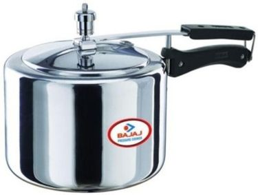Bajaj Majesty Aluminium 3 L Pressure Cooker (Induction Bottom, Inner Lid) Price in India