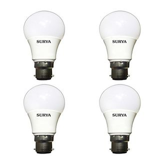 Surya 7W B22 LED Bulb (White, Pack of 4) Price in India