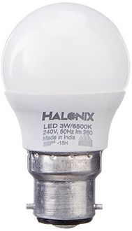 Halonix 3W Glass LED Bulb (White) Price in India