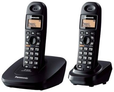 Panasonic KX-TG3612BX2 Cordless Landline Phone Price in India