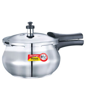 Prestige Deluxe Alpha Stainless Steel 2 L Pressure Cooker (Outer Lid) Price in India