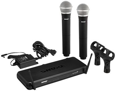 Shure SVX288/PG58 Dual Hand Wireless Microphone Price in India
