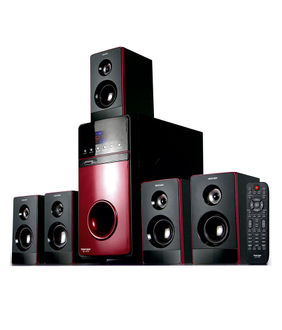 Truvison SE-7777 5.1 Multimedia Speaker Price in India