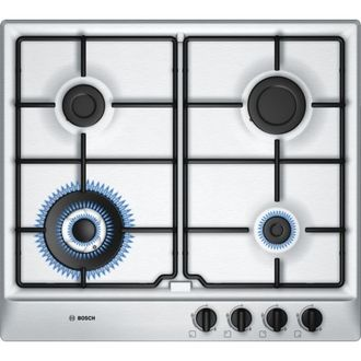 Bosch PCH615B8TI 4 Burner Auto Stainless Steel Gas Hob (60 cm) Price in India