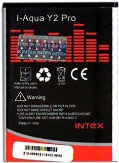 Intex 1600mAh Battery (For Aqua Y2 Pro) Price in India
