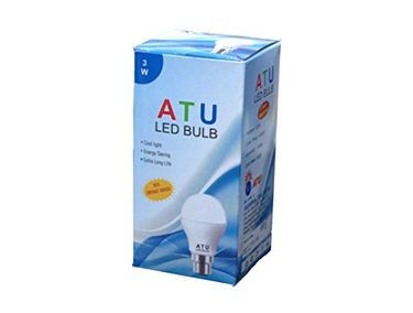 ATU 3W B22 LED Bulb (White) Price in India