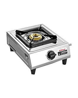 Sunflame Stainless Steel Gas Cooktop (Single Burner) Price in India