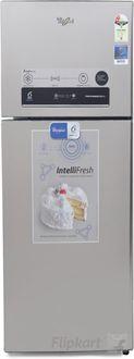 Whirlpool PRO 355 ELT 2S (Steel) 340 Litres Double Door Refrigerator Price in India