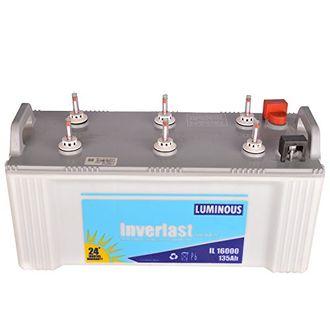 Luminous Inverlast Shakthi IL 16000 135 Ah Inverter Battery Price in India