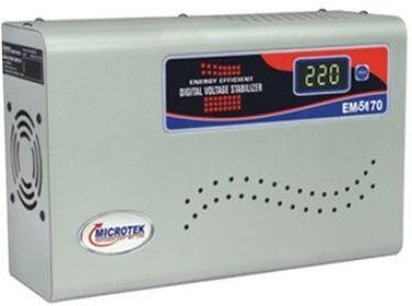 Microtek EM5170 AC Digital Voltage Stabilizer Price in India