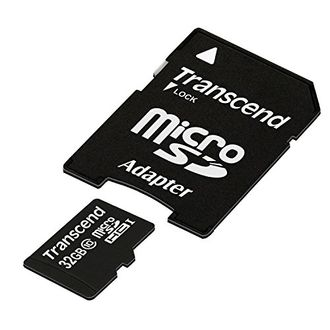 Transcend Premium 133x 32GB MicroSDHC Class 10 (20MB/s) Memory Card (With Adapter) Price in India